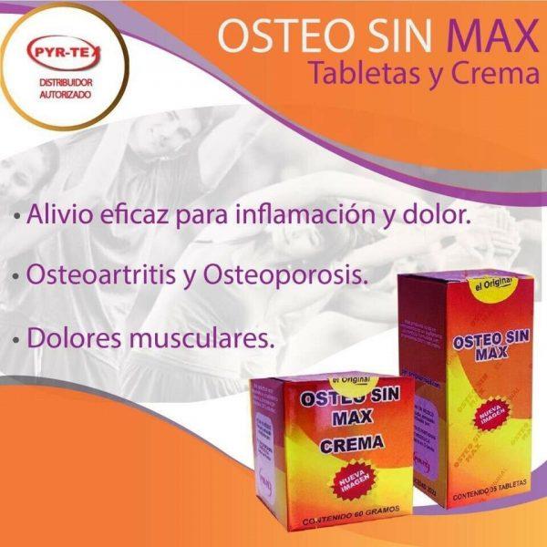 Osteo Sin Max, EL ORIGINAL! NO ACEPTE IMITACIONES! (Pyrtex) NATURAL PAIN KILLER 6