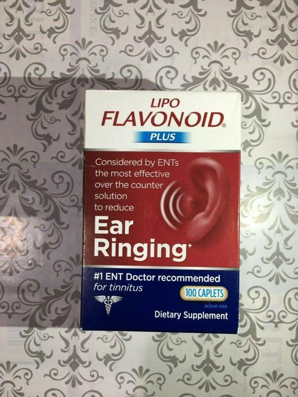 Lipo-Flavonoid Plus 100 Caplets Inner Ear Ringing Health JULY 2022 #1001