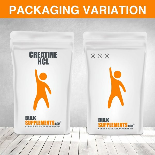 BulkSupplements.com Creatine HCl 9
