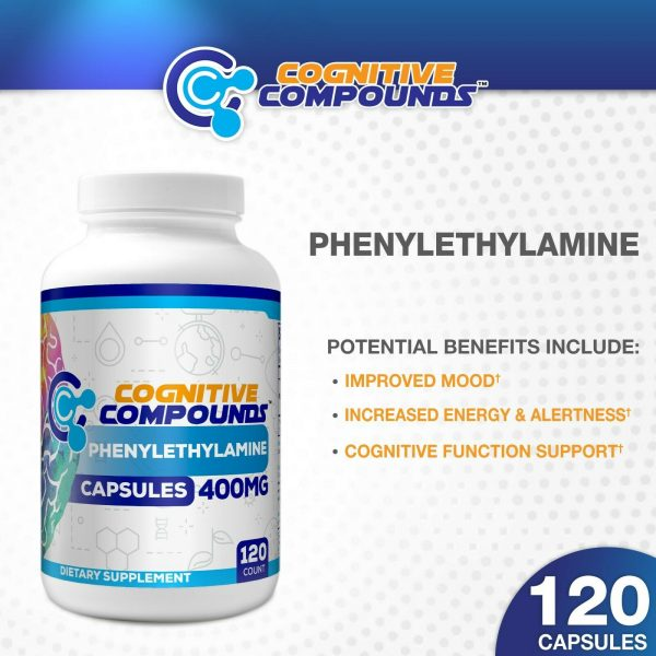 Beta Phenylethylamine HCL (PEA) Capsules Cognitive Compound 1