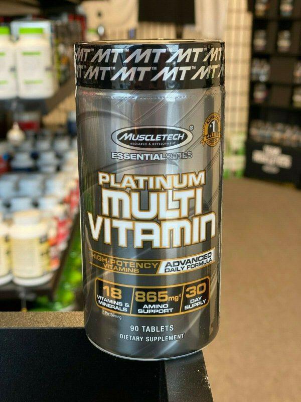 MuscleTech PLATINUM MULTIVITAMIN Amino Acid 90 and 180 Caps Free Ship SALE
