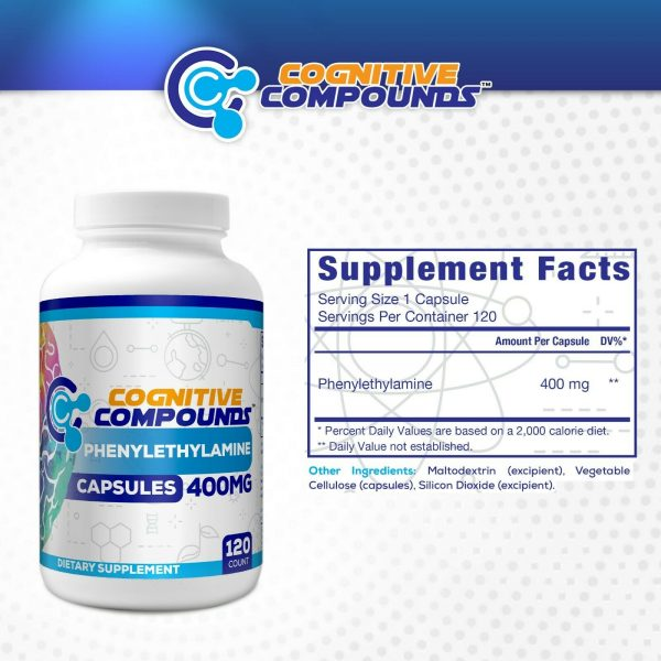 Beta Phenylethylamine HCL (PEA) Capsules Cognitive Compound 2