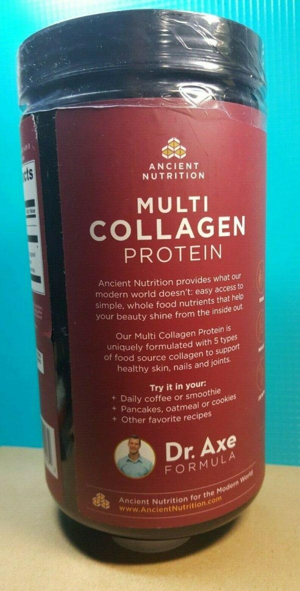 Ancient Nutrition Multi Collagen Protein Powder - 8.6oz EXP 10/22 1