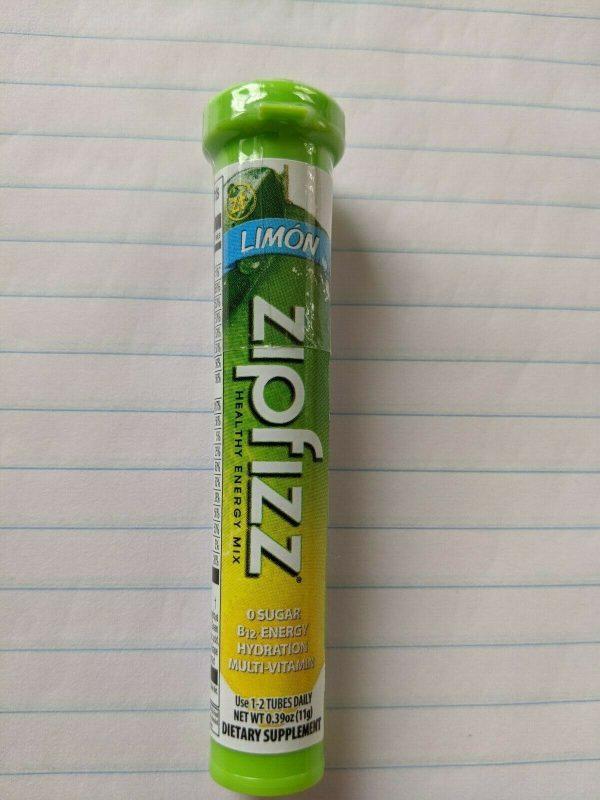 20 zipfizz energy booster powder. Choose your flavor. 1
