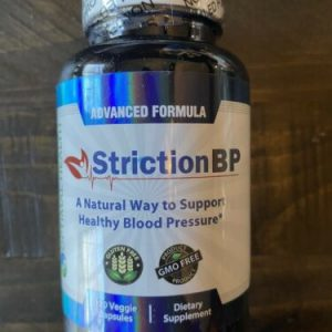 Striction BP Advanced Formula Support Healthy Blood Pressure StrictionBP Exp9/22