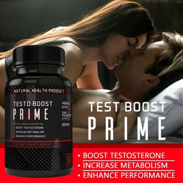 Testosterone Booster Male Enhancement,Pills,Improve Sex Stamina Performance 60ct 7