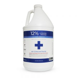 12% Food Grade Hydrogen Peroxide 1 Gallon