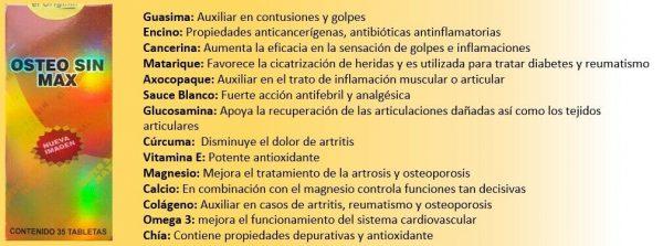 Osteo Sin Max, EL ORIGINAL! NO ACEPTE IMITACIONES! (Pyrtex) NATURAL PAIN KILLER 1