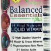 Balanced Essesntials 94 Vital Nutrients Liquid Vitamin Berry Flavor - 32 oz
