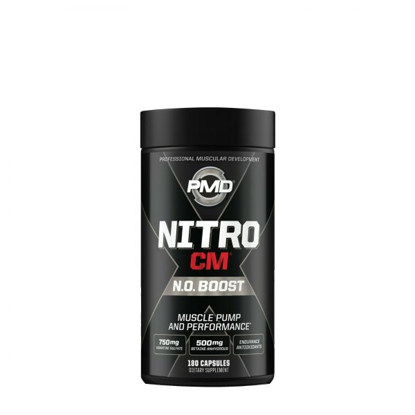 PMD NITRO CM Powered w/AGMATINE-Nitric Oxide Booster 180cap (FREE SHIPPING)