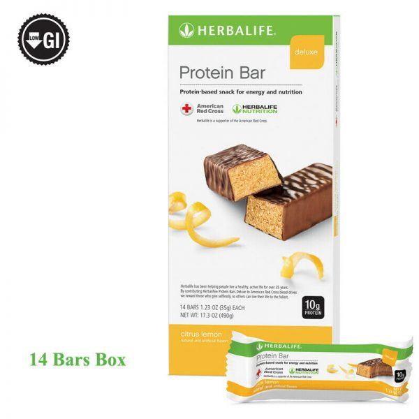 Herbalife Protein Bar Deluxe 14 Bars per Box 5