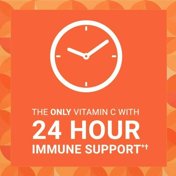 Ester-C Vitamin C 1000mg 120 Coated Tablet 24 Hour Immune Support NON-GMO 2