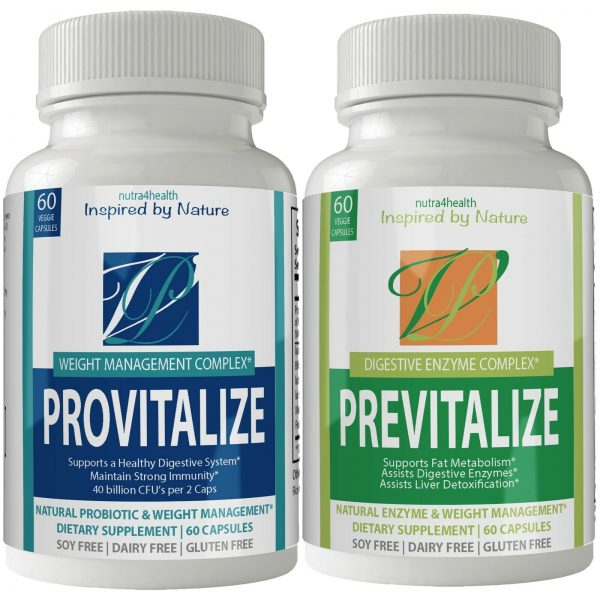 1 Provitalize Weight Management  & 1 Previtalize Gut Health Support BUNDLE
