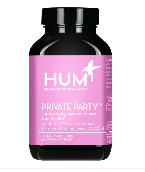 HUM Private Party - Supports Healthy Vaginal pH & Urinary Tract Health