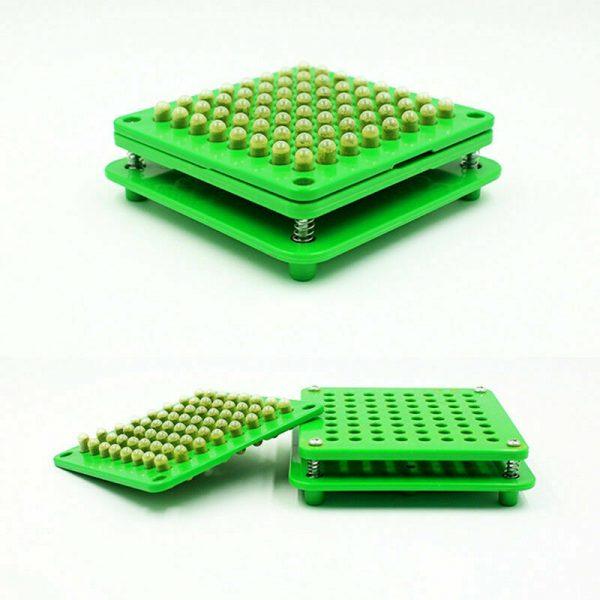 100 Holes Capsul Filler Size 000 00 0 1 2 3 Manual Filling Machine Tamper Tool 8