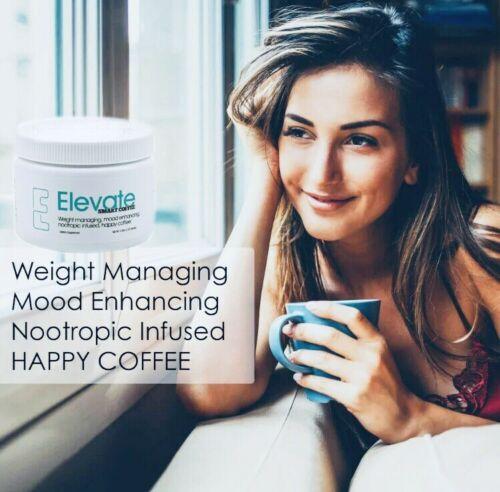 #1 Authentic Elevate Smart Happy Coffee Tub 30  Elevacity Please Read 11/2021. 1