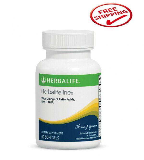 NEW Herbalife Herbalifeline With Omega-3 Fatty Acids EPA & DHA 60 softgels