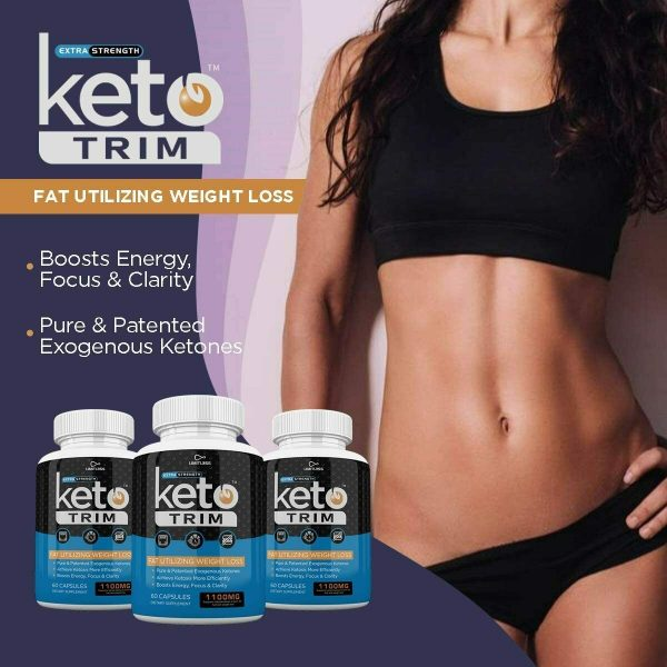 KETO TRIM EXTRA STRENGTH 3 MONTH SUPPLY **FAST SHIPPING** 4