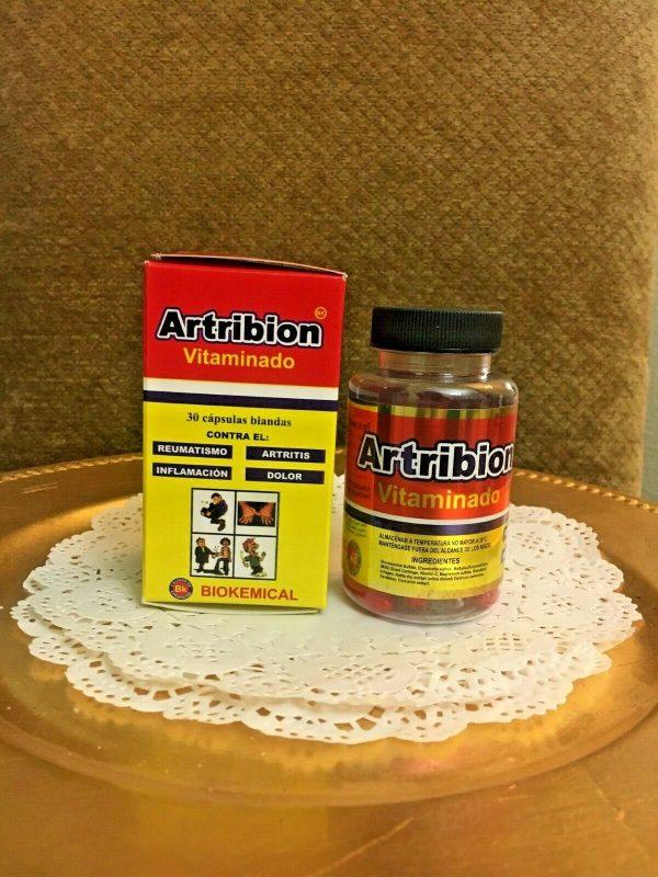 ARTRIBION Vitaminado Artritis, Inflamacion, Dolor, Reumatismo 30 soft Capsules
