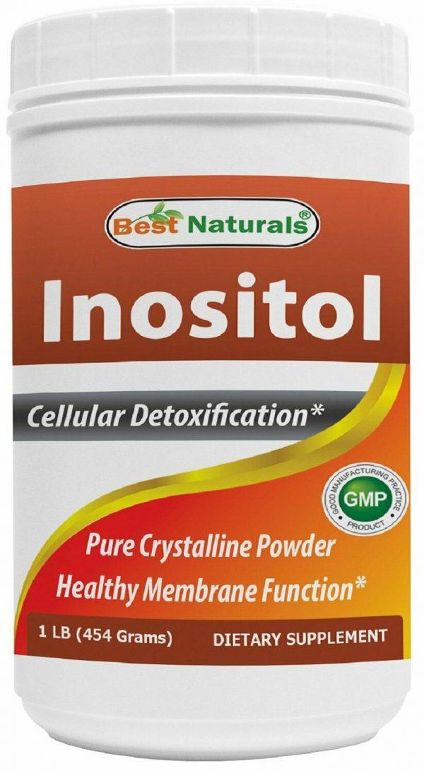 Best Naturals Inositol Pure Powder 1 Pound