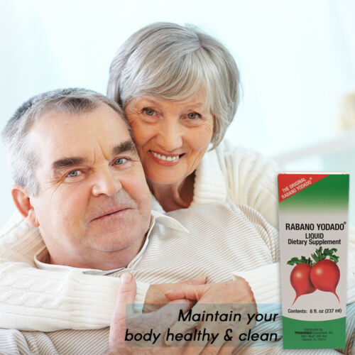 Rabano Yodado Liquid Dietary Supplement, Thyroid Treatment, 8 Fl Oz / 237 ml 4