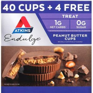 Atkins Endulge Peanut Butter Cups Pack, Keto Friendly (44 ct.)
