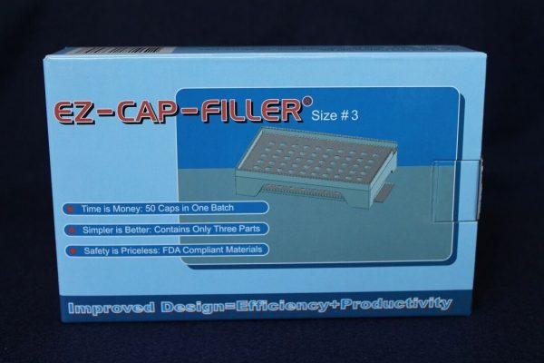 50 holes EZ-CAP-FILLER cap filler machine size 4,3,2,1,0,00,000 respectively 3