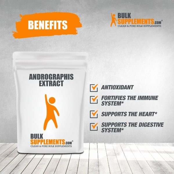 BulkSupplements.com Andrographis Extract 7