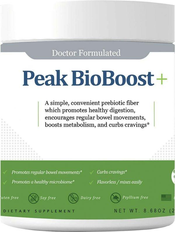 LIMITED TIME OFFER Peak BioBoost - Prebiotic Fiber Supplement for Amazing Poops