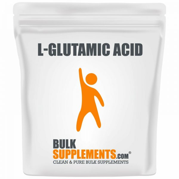 BulkSupplements.com L-Glutamic Acid