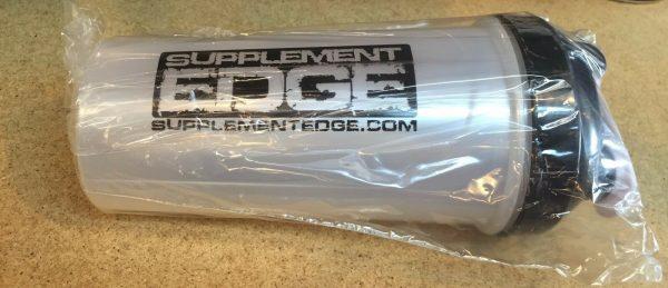 Protein Supplement Shaker Bottle- Supplement Edge + 3 Free Samples free Shipping 3
