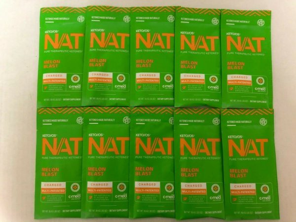 New Pruvit Keto OS NAT Melon Blash 5,10 & 20 Packs Free Shipping 2