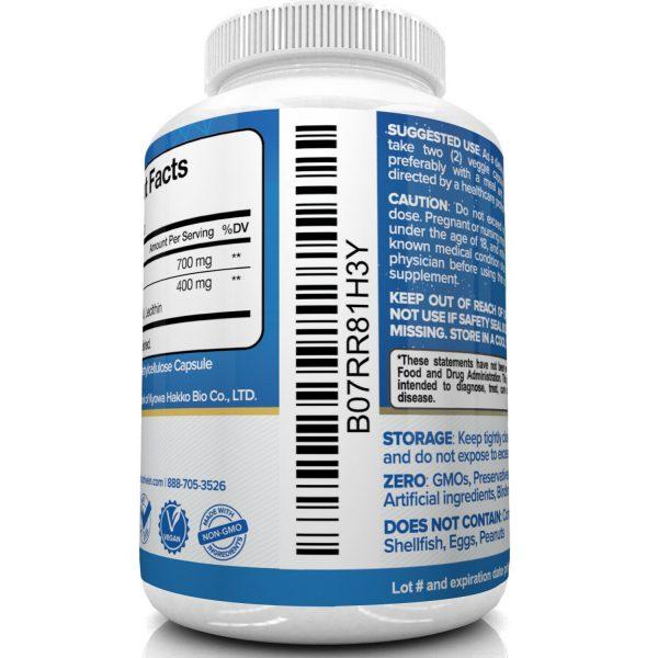 Nutrivein Liposomal Glutathione Setria 700mg - 60 Capsules - Master Liver Detox  5