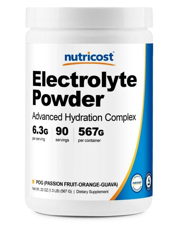Nutricost Electrolyte Powder, Advanced Hydration Complex, 90 Servings, (POG)