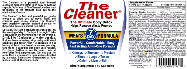 The Cleaner Total Body Detox and Colon Cleanse (All Variations) 4