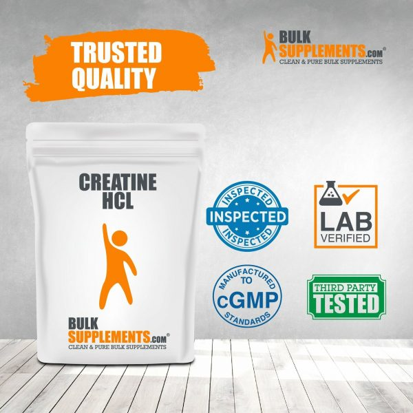 BulkSupplements.com Creatine HCl 8