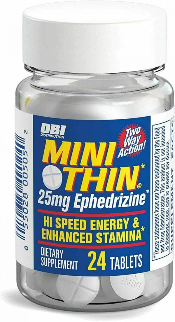 Mini Thin Two-Way Action Caffeine Pills Hi Speed Energy and Enhanced Stamina PK