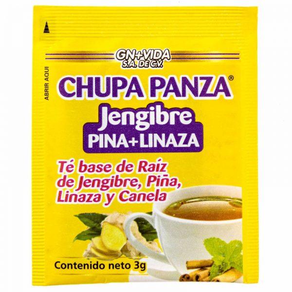 TEA CHUPA PANZA Jengibre, Pina, Linaza Te Ginger, Cinnamon Pineapple 30 Day 4