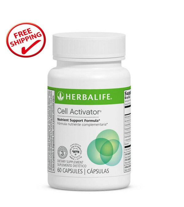 Herbalife Formula 3 Cell Activator 60 capsules Exp: 09/2021 - Free Shipping !!!