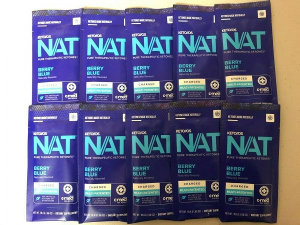 Pruvit Keto OS Nat Berry Blue (Charged) 5, 10 & 20 Packs FREE SHIPPING 2