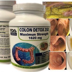 100 caps COLON HERBAL CLEANSE NATURAL DETOX ALOE VERA ALFALFA Fast colon cleanse
