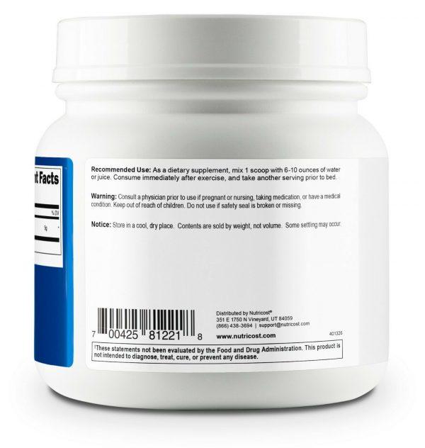 Nutricost Pure L-Glutamine Powder 500G - 100 Servings, Non-GMO & Gluten Free 3
