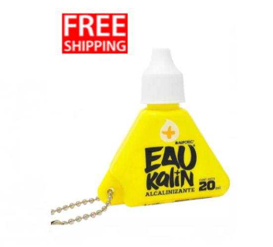 ELV Alipotec Eau Kalin Alkaline Water Drops Spanish Version - 20 ML FREE SHIPPIN