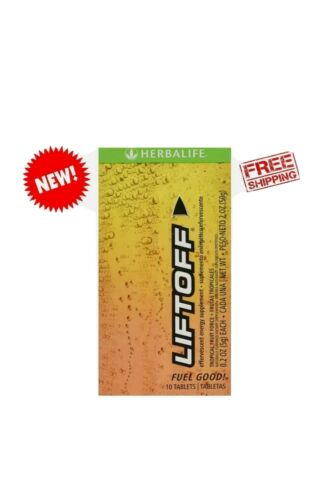 Herbalife Liftoff Tropical Fruit 10 Tablets - Free Shipping!