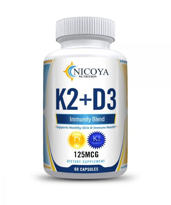 Vitamin K2 D3 Vitamin Supplement with BioPerine, Boost Immunity & Heart Health 6