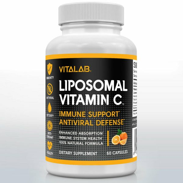 Liposomal Vitamin C 1000mg Capsules High Absorption Vitamin C Pills Supplements 1