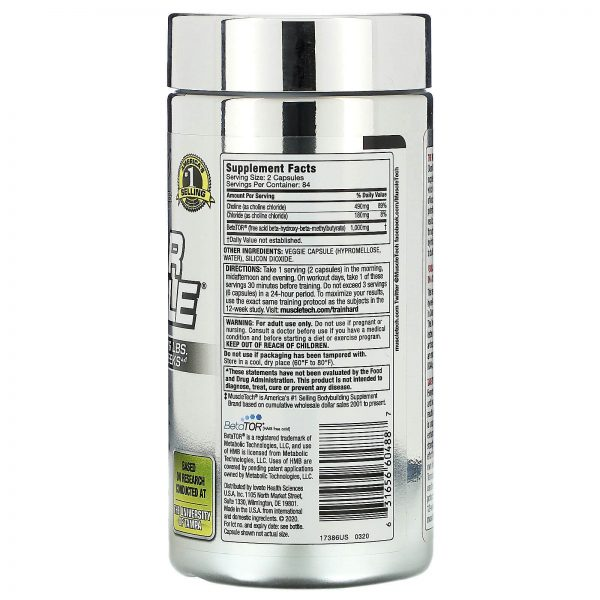 Muscletech, Performance Series, Clear Muscle, 168 Liquid Caps 1