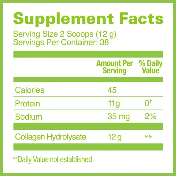 Great Lakes Gelatin, Beef Collagen Hydrolysate, Unflavored, 16 Oz Can 3