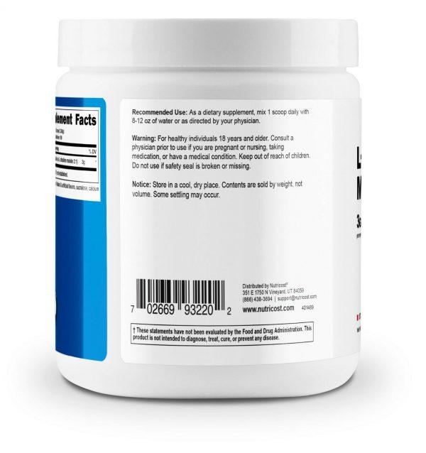 Nutricost L-Citrulline Malate Powder (300G) (Strawberry Kiwi) 2