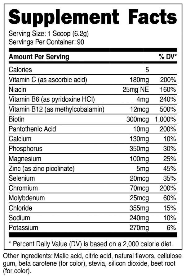 Nutricost Electrolyte Powder, Advanced Hydration Complex, (Orange Mango) 1